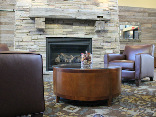 Barnwood Walls and Mantels for GSU Indian Creek