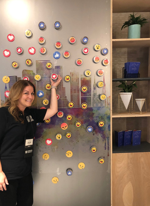 Facebook booth play time.