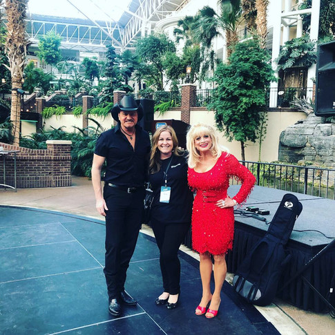 Gaylord Opryland Pre-Reception with talent.