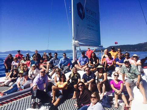 Catamaran Group Boat Tour