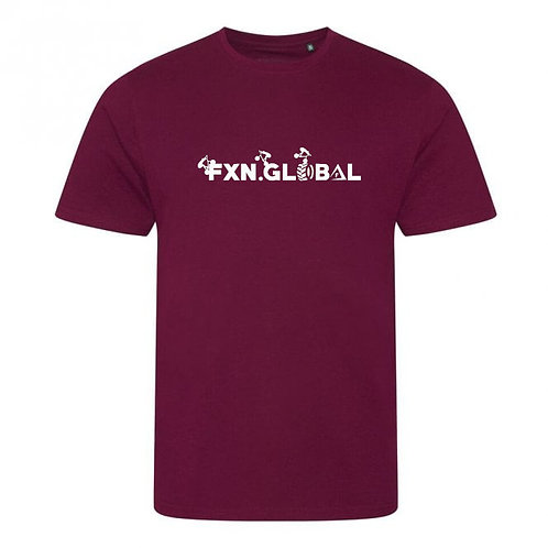 FXN.GLOBAL Trials Text Tee