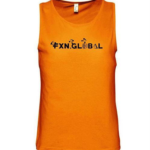 FXN Trials Text Logo Vest