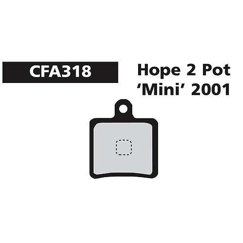 EBC Hope 2 Pot Mini Pads