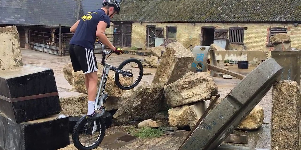 National Trial Cup Ticket 16th May 2020 Bike Trial Academy UK