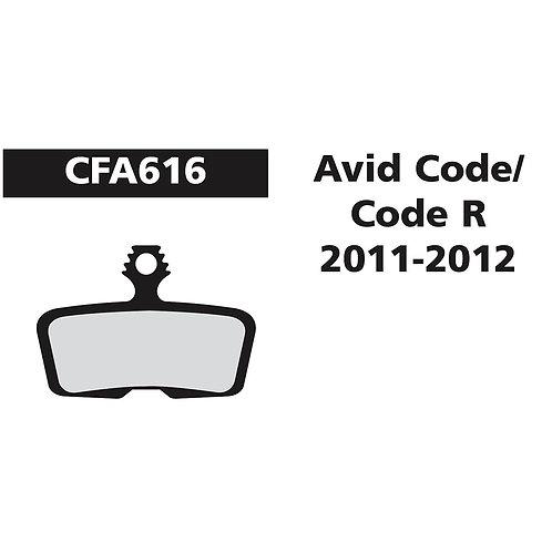 EBC Avid Elixir/Code R 11-12 Pads