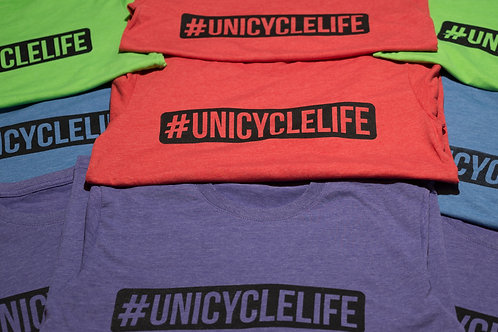 Kids #Unicycle Longsleeve T-shirt