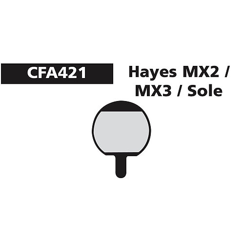 EBC Hayes MX2 & MX3 Pads