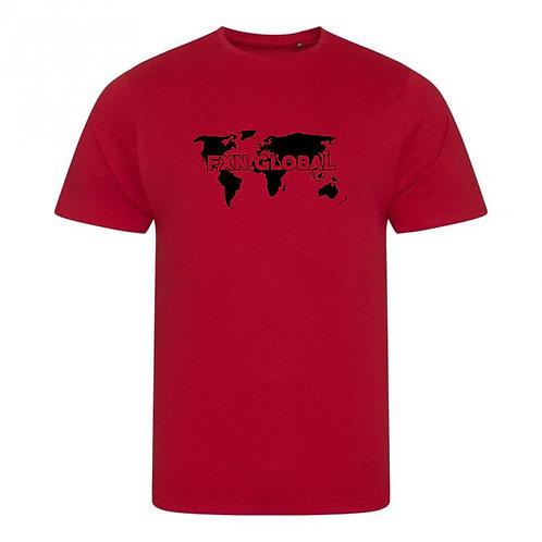 FXN.GLOBAL World Map Tee
