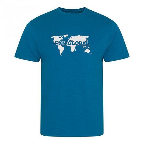 FXN.GLOBAL World Map Tee (Gildan)