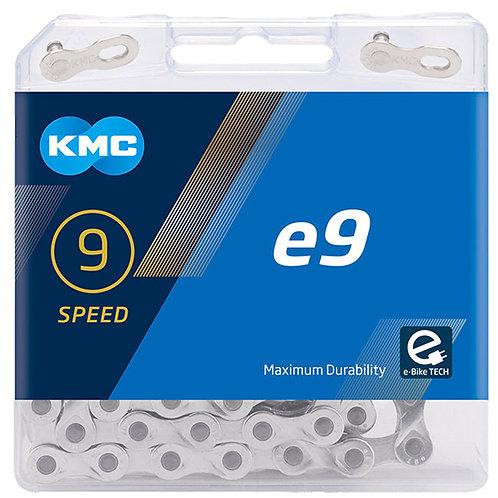 KMC X9e Silver Chain