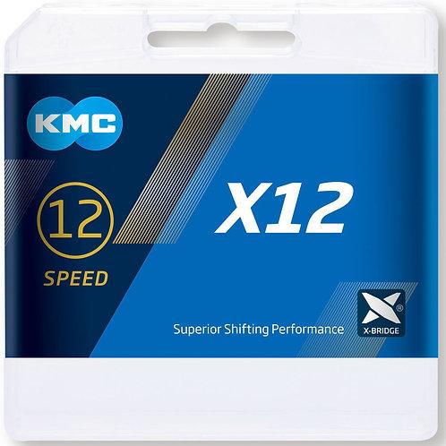 KMC X12 Chain 126L