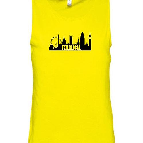 FXN London Skyline Logo Vest