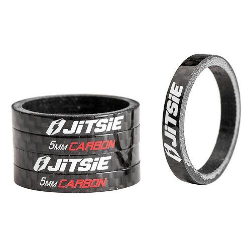 JITSIE Carbon Spacers 5mm