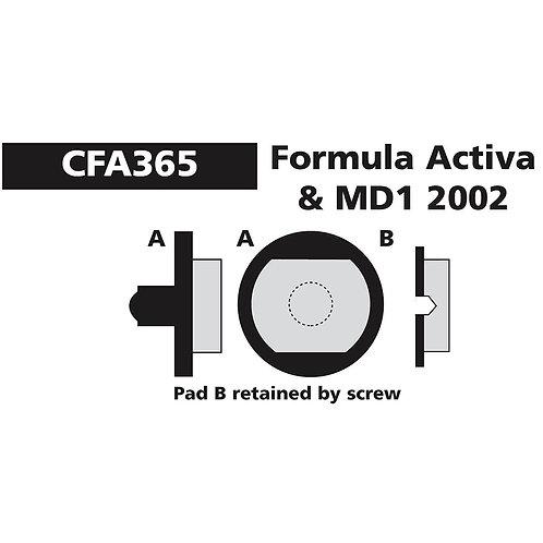 EBC Formula Activa & MD1 Pads