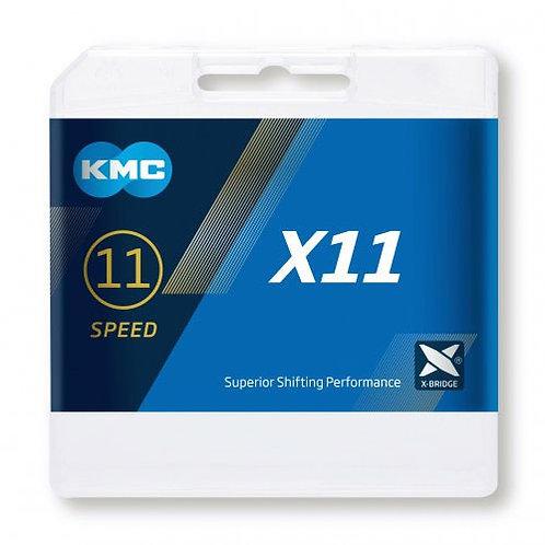 KMC X11 Grey Chain 114L/118L