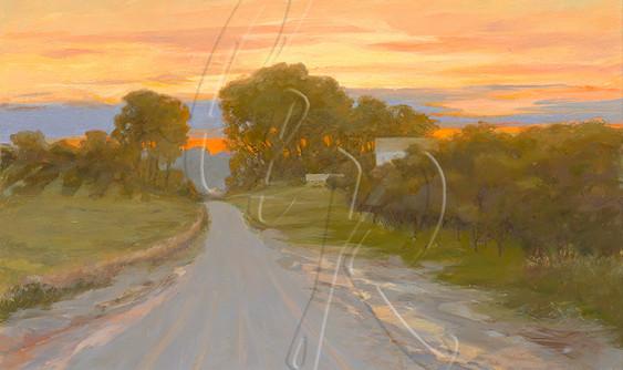 Alpers Road Sunset