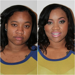 Before & After Makeup
