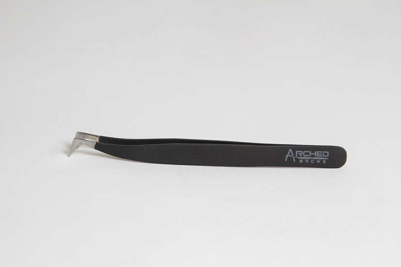 Arched Brows Signature Short Tip Tweezers