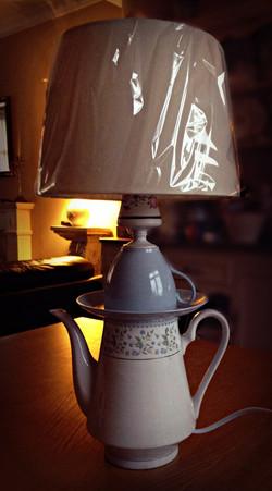 Lamp - pale blue