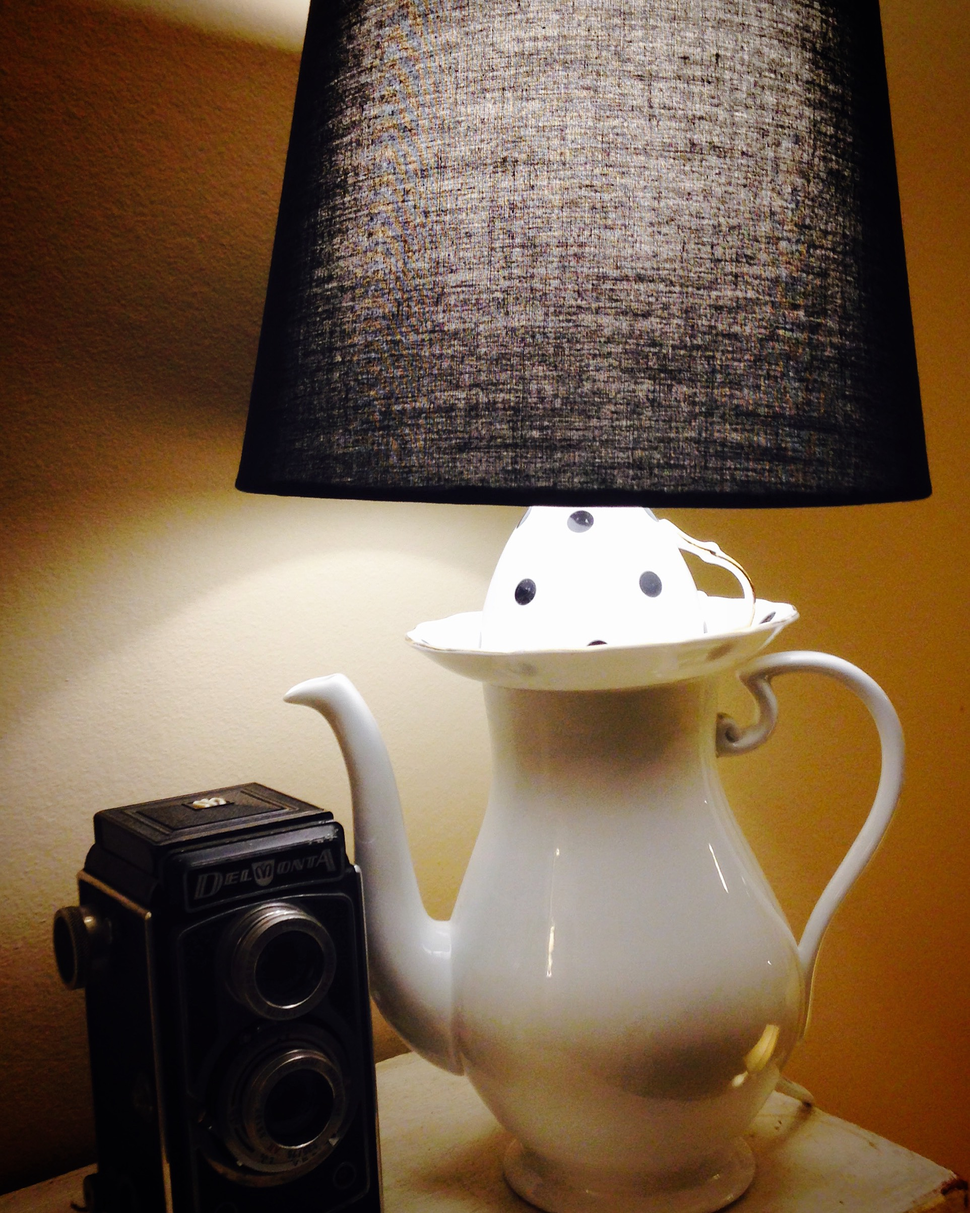 ** SOLD ** Spotted lamp