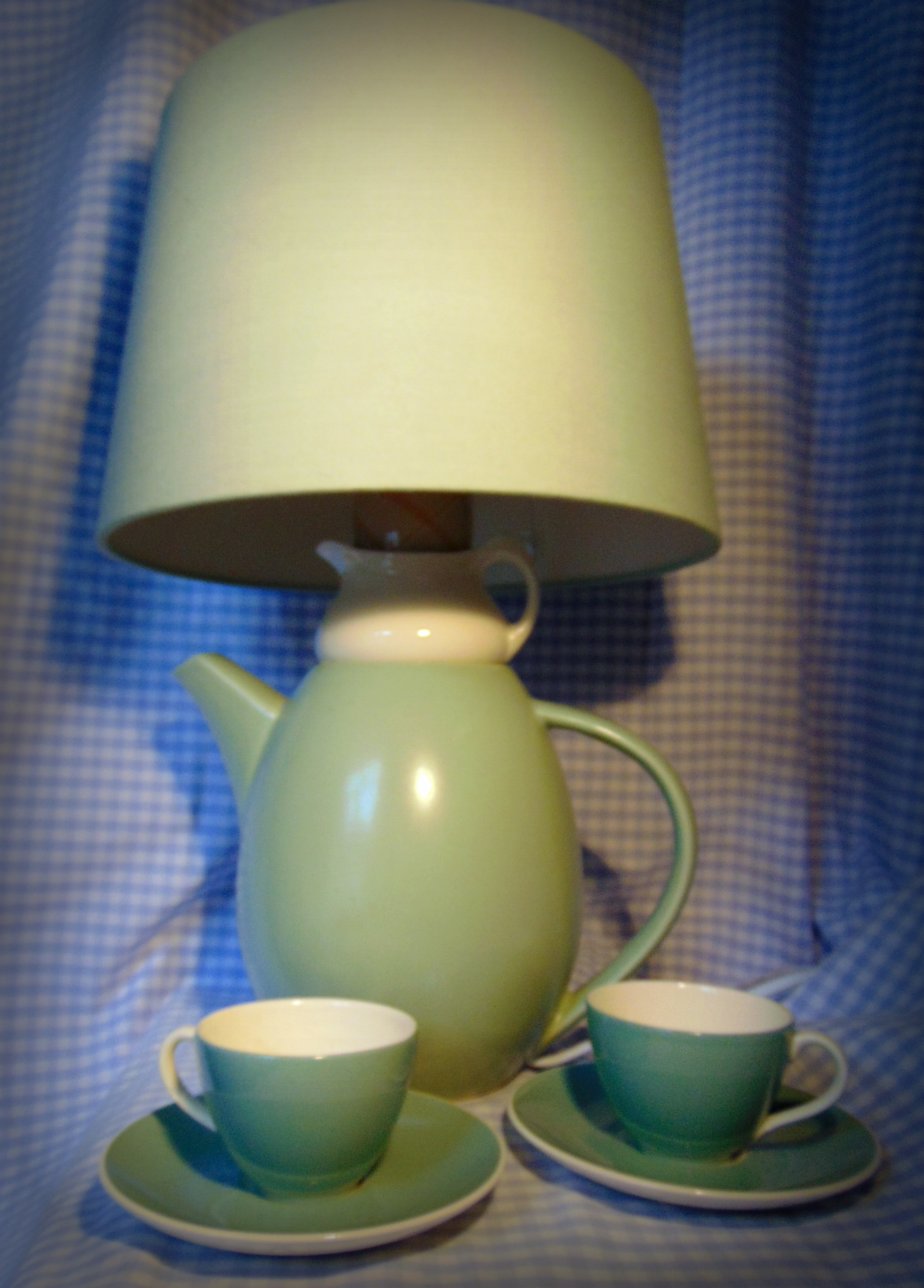 ** SOLD ** Lamp_duck_egg