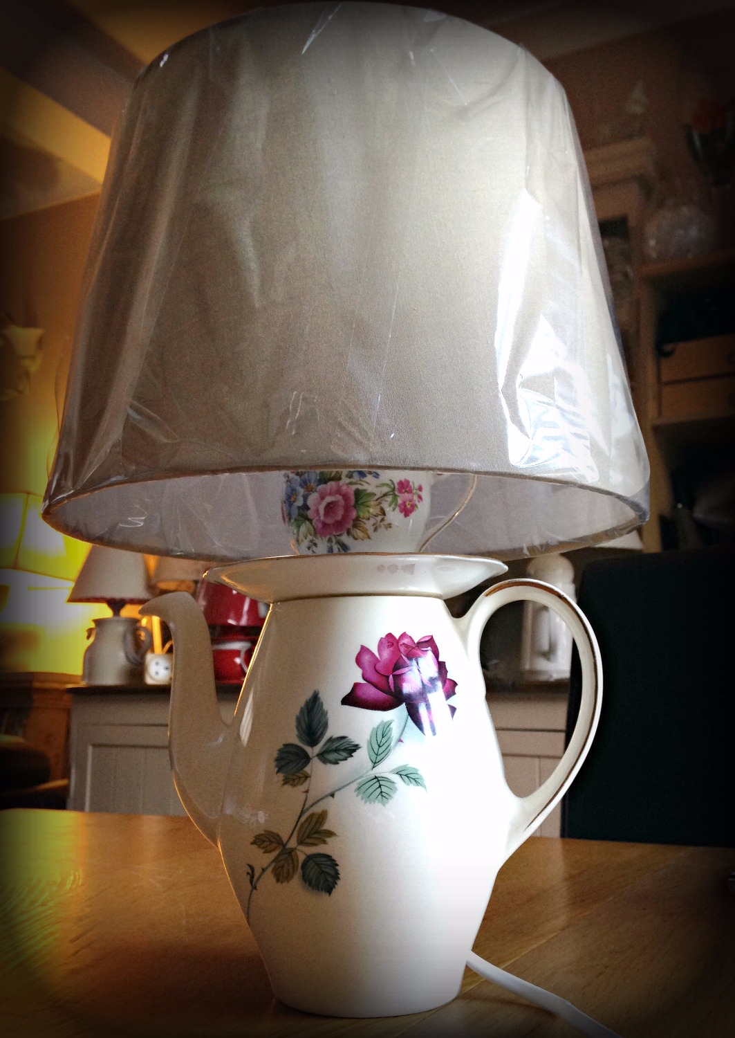 ** SOLD ** Lamp Rose