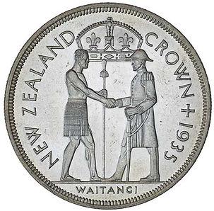 Waitangi Crown Proof Coin