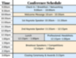 Regional Conference schedule.png