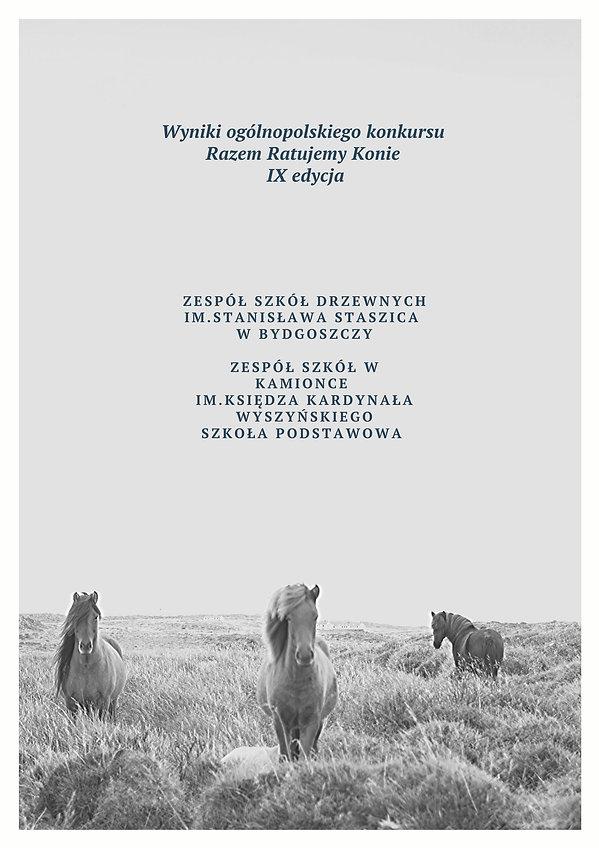 wyniki konkursu Razem Ratujemy konie 9 e