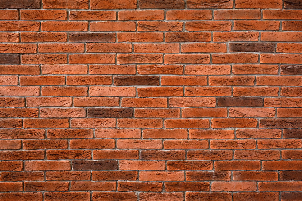 Brick wall texture on rustic background