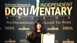 Receiving Award!