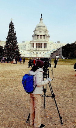 Filming in D.C.