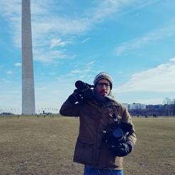 Filming in Washington D.C.!