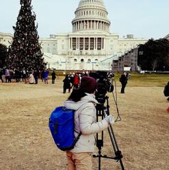 Filming in D.C.!