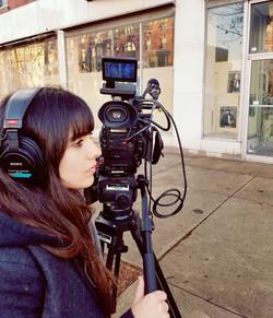 Filming in Philadelphia