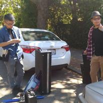 Filming in California!