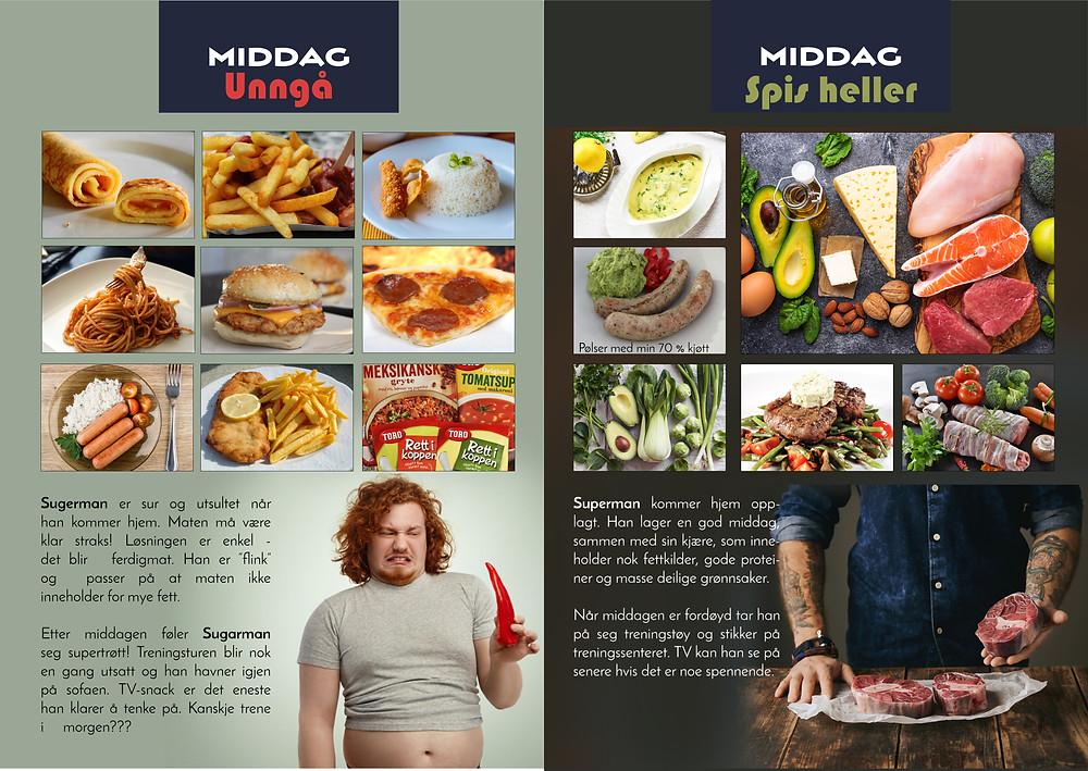 Guiden inneholder enkle byttetriks i bilder og lite tekst.