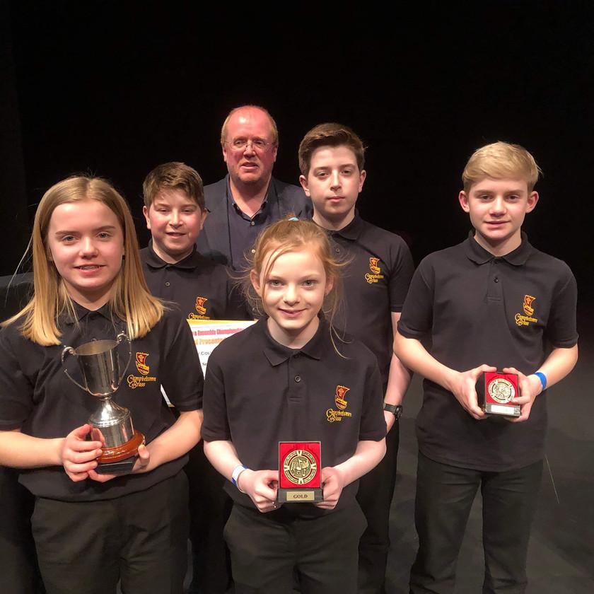 Junior Ensemble Winners