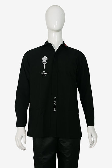 VALENTINE SHIRT BLACK