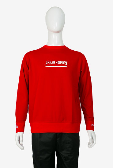 STREET CROSS RED SWEATER