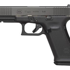 NEW - GLOCK 17 GEN 5 9MM
