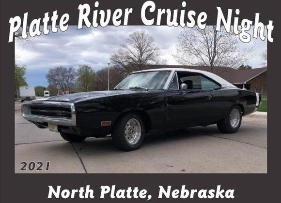 2021 Platte River Cruise Night Dash Plaque