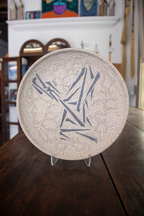 Carved Plate-Timothy Weber