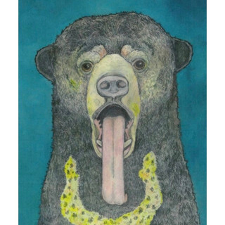 """Illustrious Sun Bear"" by Susan Shoemaker"