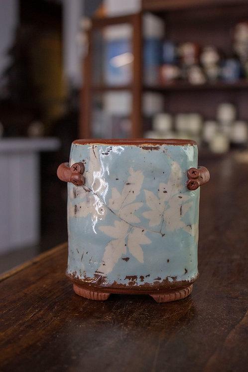 Blue & White Bud Vase-Doris Blum