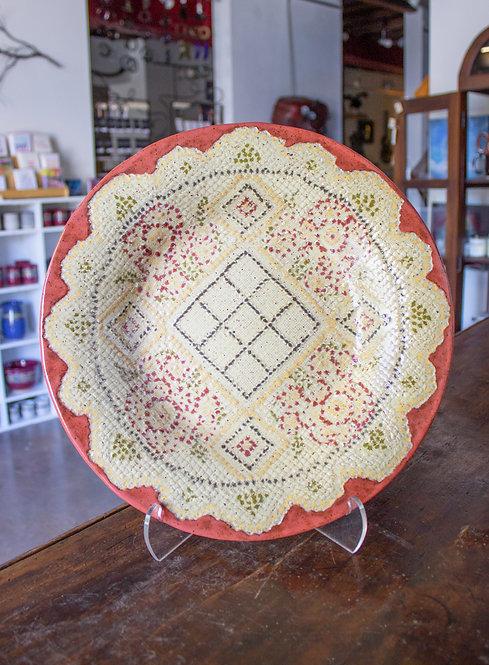 Filet Crochet Dish-Carol Lammon