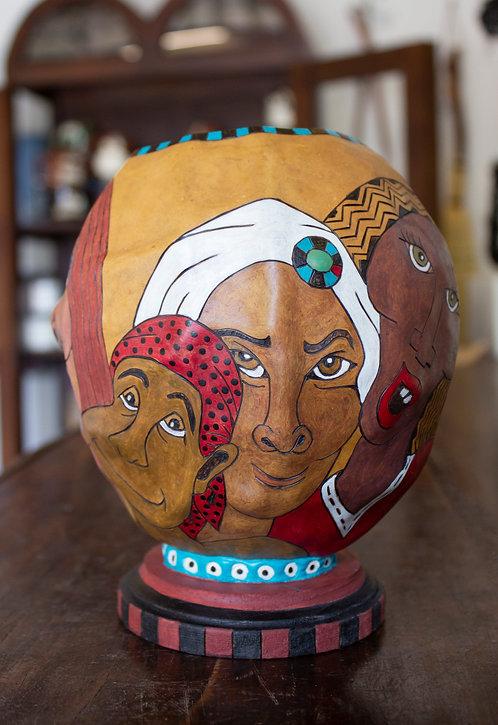 4x4 Head Gourd-Teresa Wamble