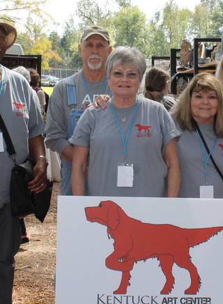 Red Dog Potters at the Kentuck Festival