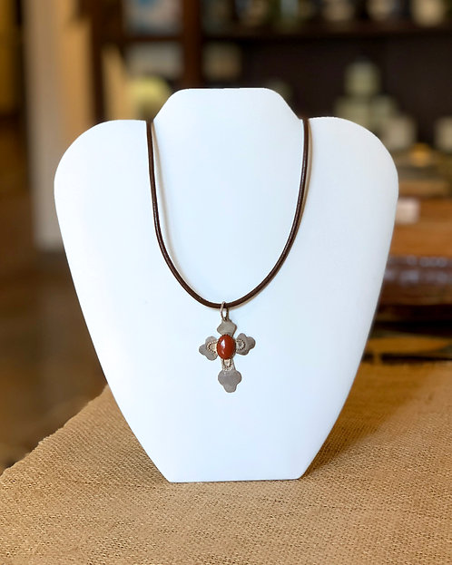 Cross Necklace-Cecily Chaney