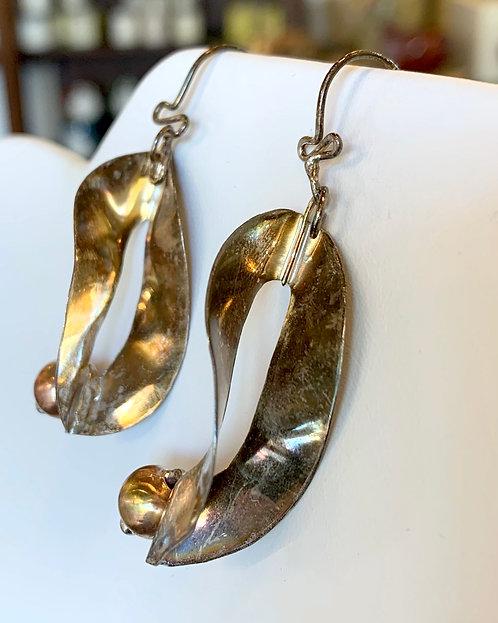 Large Sterling Earrings-Leigh Lynn